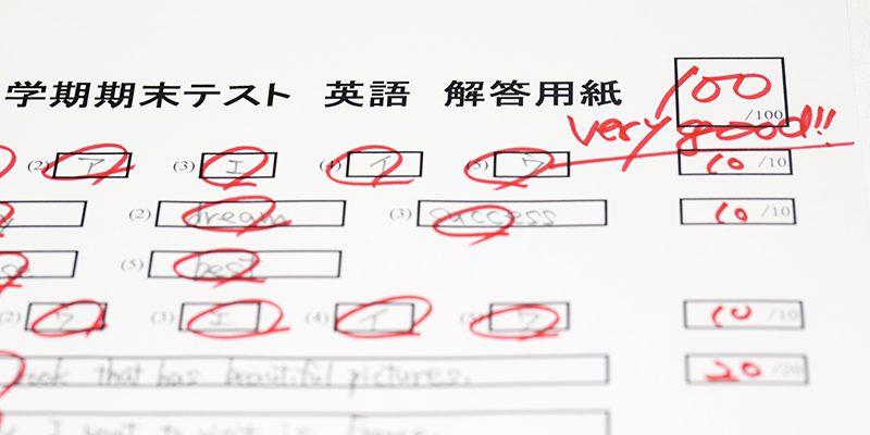 写真:定期テスト対策講座で成績UP!